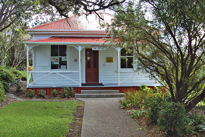 Leigh Library today – one of the most picturesque in New Zealand.