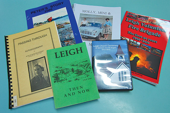 The library features a great selection of books on local history and personalities.