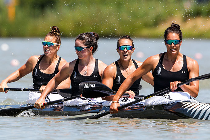 Could Team New Zealand Help Us Innovate In Education: NZ K4 Chasing Kayaking History