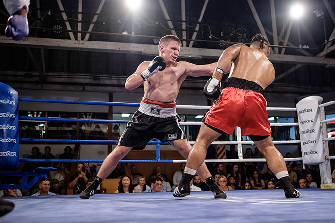 Newsie - An explosive night of boxing - The Nation's Local News